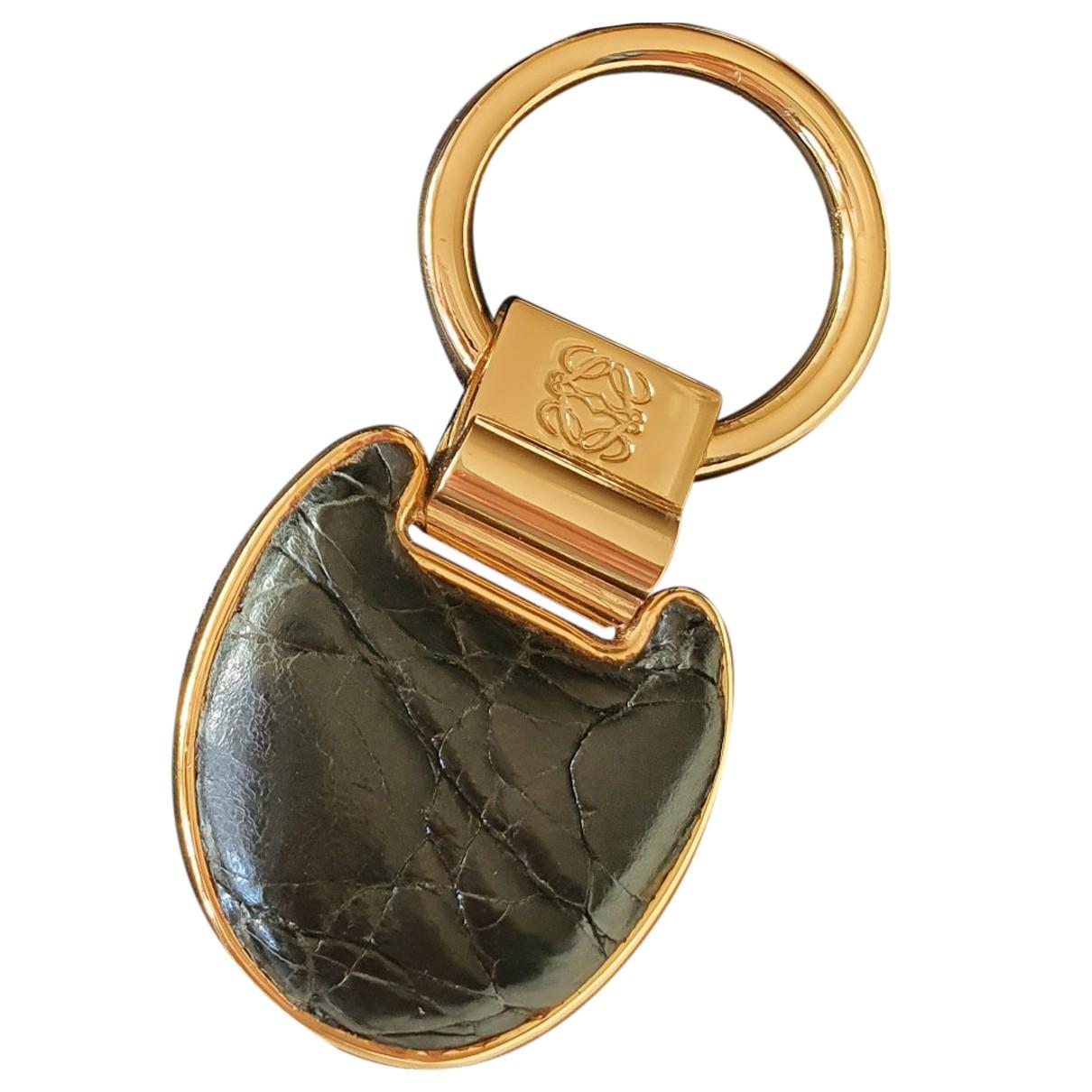 Loewe \N Taschenschmuck in  Schwarz Metall