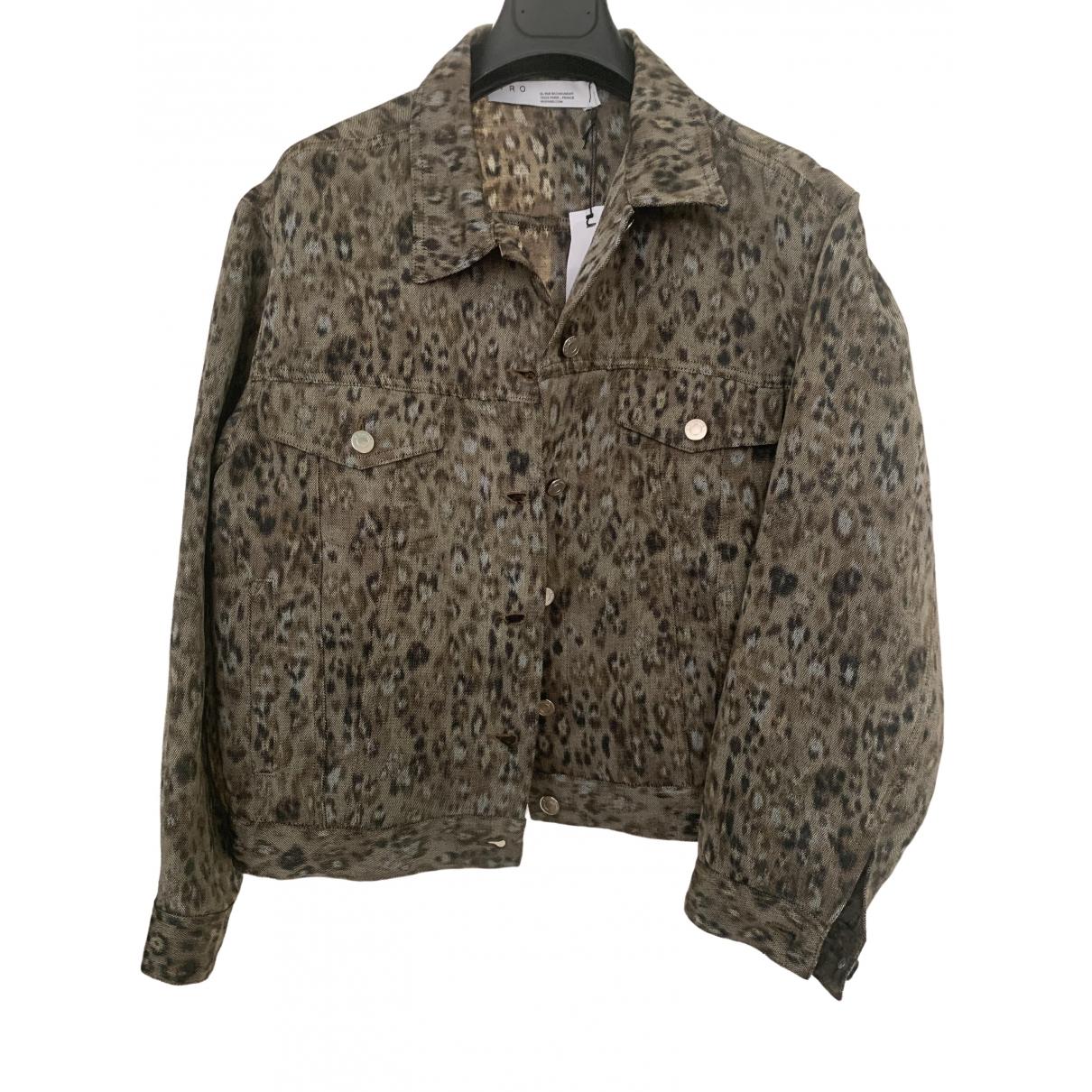 Iro Fall Winter 2019 Green Linen jacket for Women 38 FR
