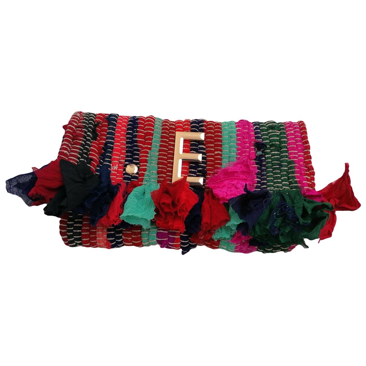Bolsos clutch en Algodon Multicolor Non Signe / Unsigned