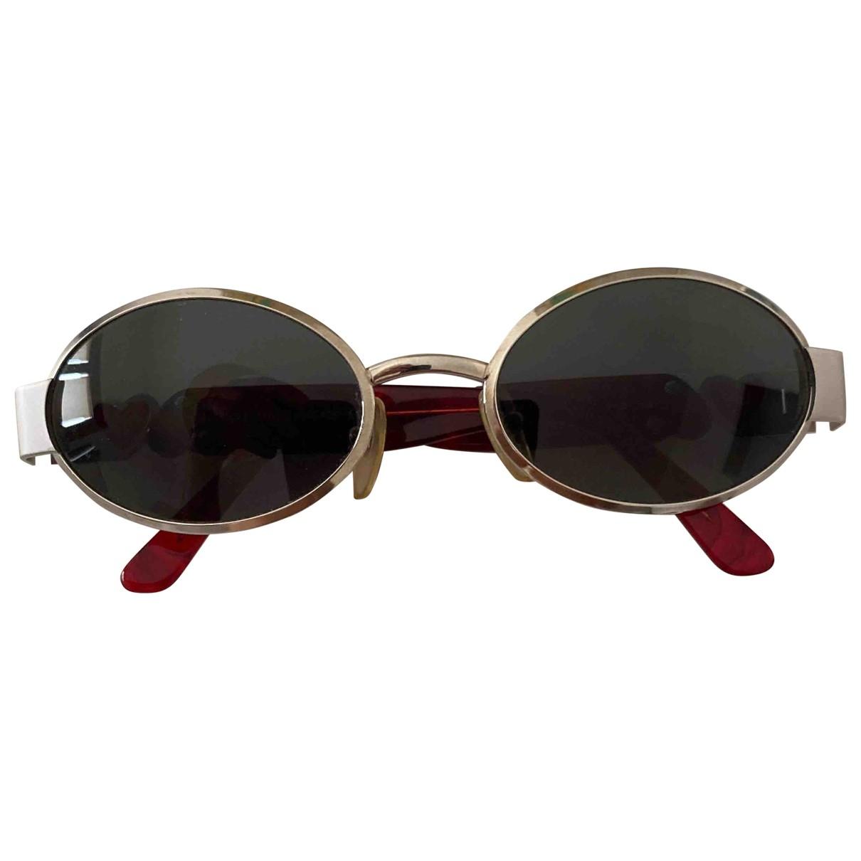 Moschino \N Sonnenbrillen in  Grau Metall
