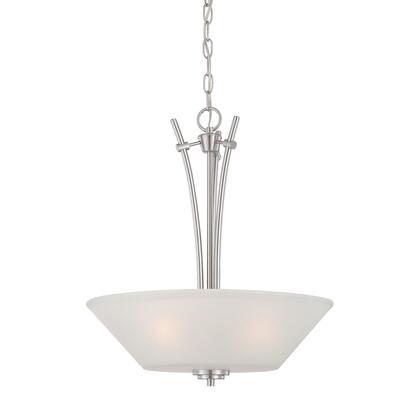 190061217 Pittman 3-Light Pendant in Brushed