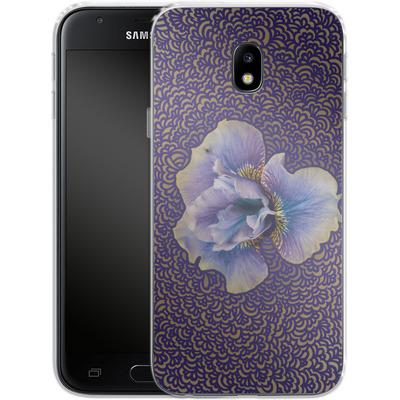 Samsung Galaxy J3 (2017) Silikon Handyhuelle - Iris Drawing Meditation von Kaitlyn Parker
