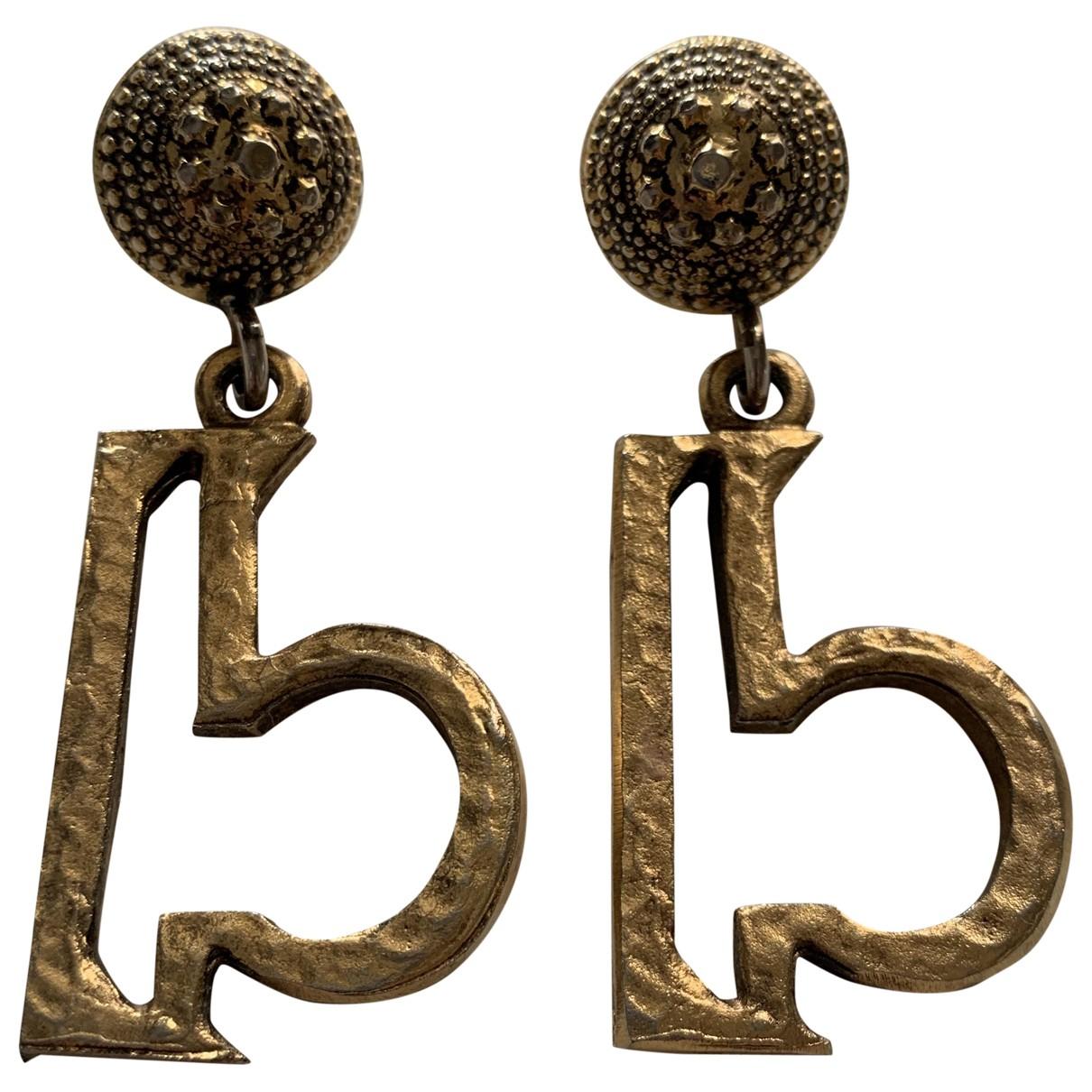 Moschino - Boucles doreilles   pour femme en metal - dore