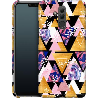 Huawei Mate 20 Lite Smartphone Huelle - Blush Geo Black von Mukta Lata Barua