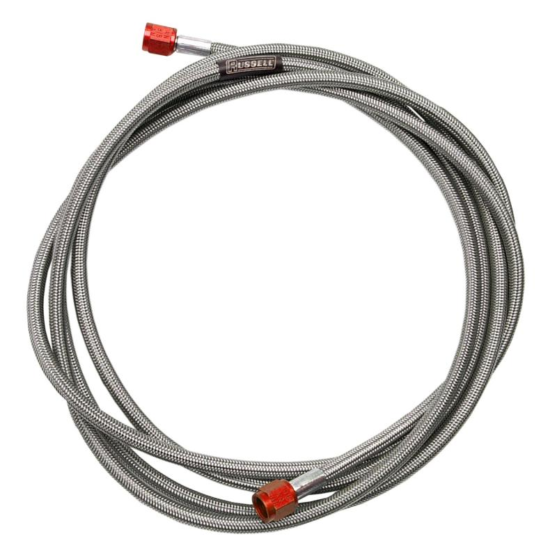 Russell NITROUS HOSE #3 AN 3 FT RED