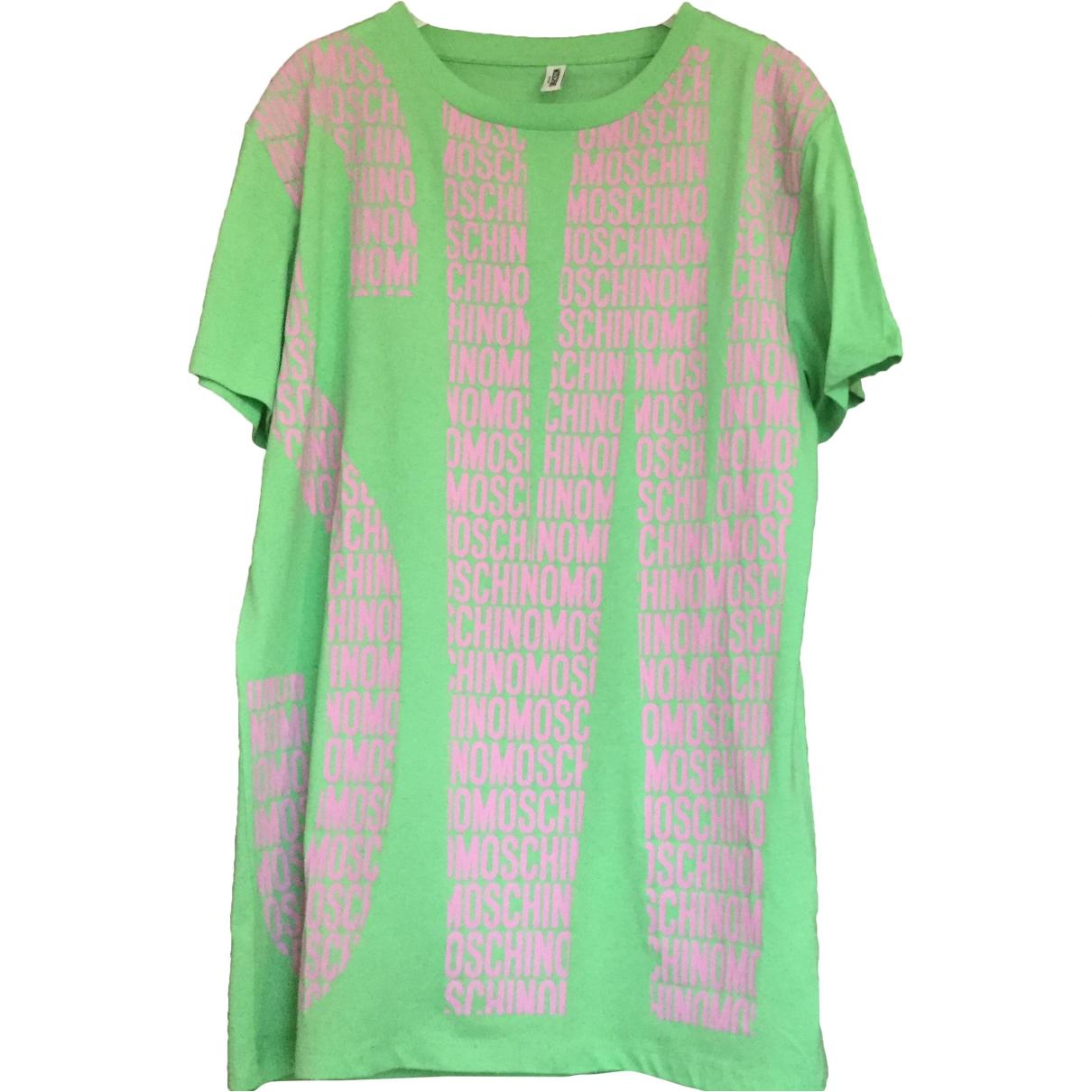 Moschino \N Green Cotton dress for Women S International