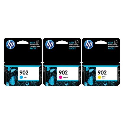 HP 902 cartouche d'encre originale combo C/M/Y
