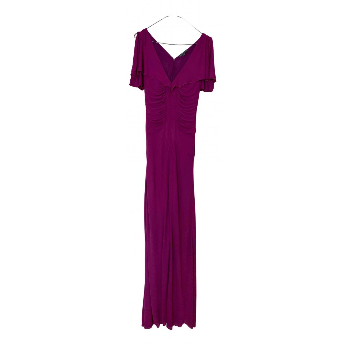 Alexander Mcqueen N Purple Cotton - elasthane dress for Women 38 IT