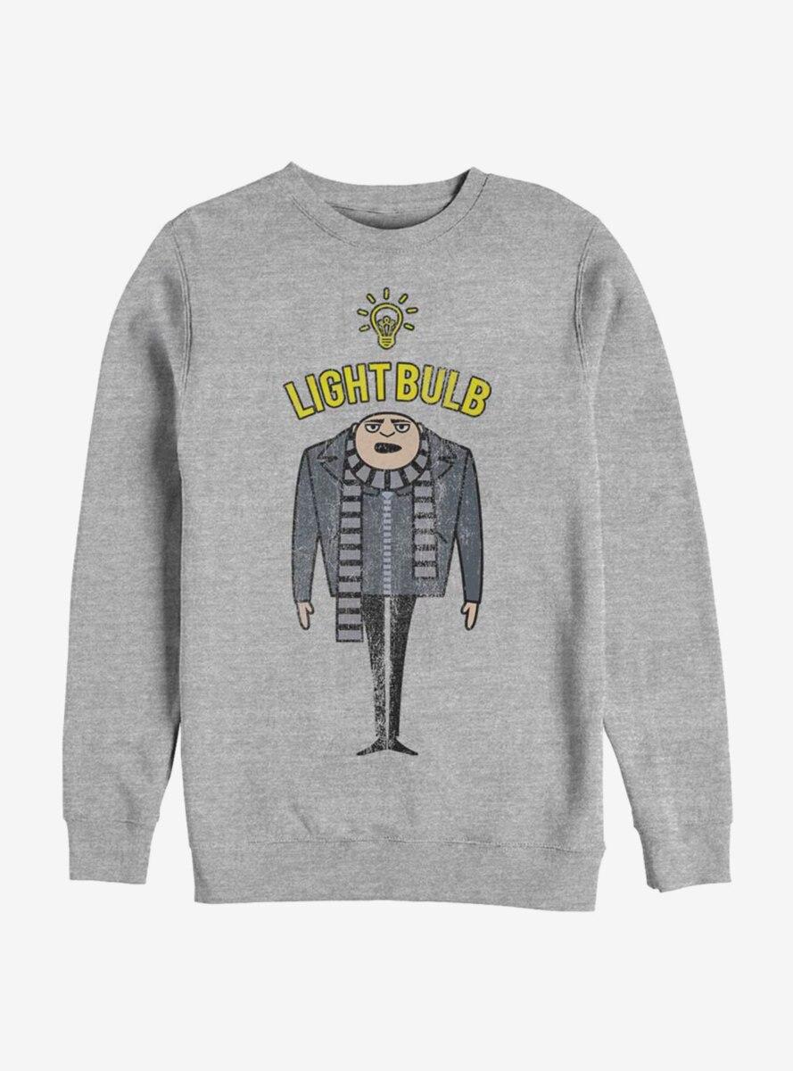 Despicable Me Minions Light Bulb Sweatshirt