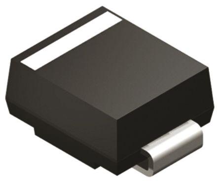 Vishay SMBJ110CA-E3/52, Bi-Directional TVS Diode, 600W, 2-Pin DO-214AA (20)