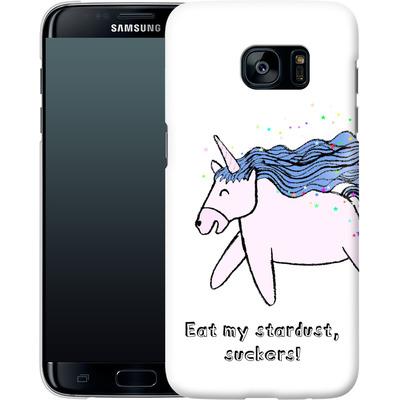Samsung Galaxy S7 Edge Smartphone Huelle - Eat my stardust von caseable Designs