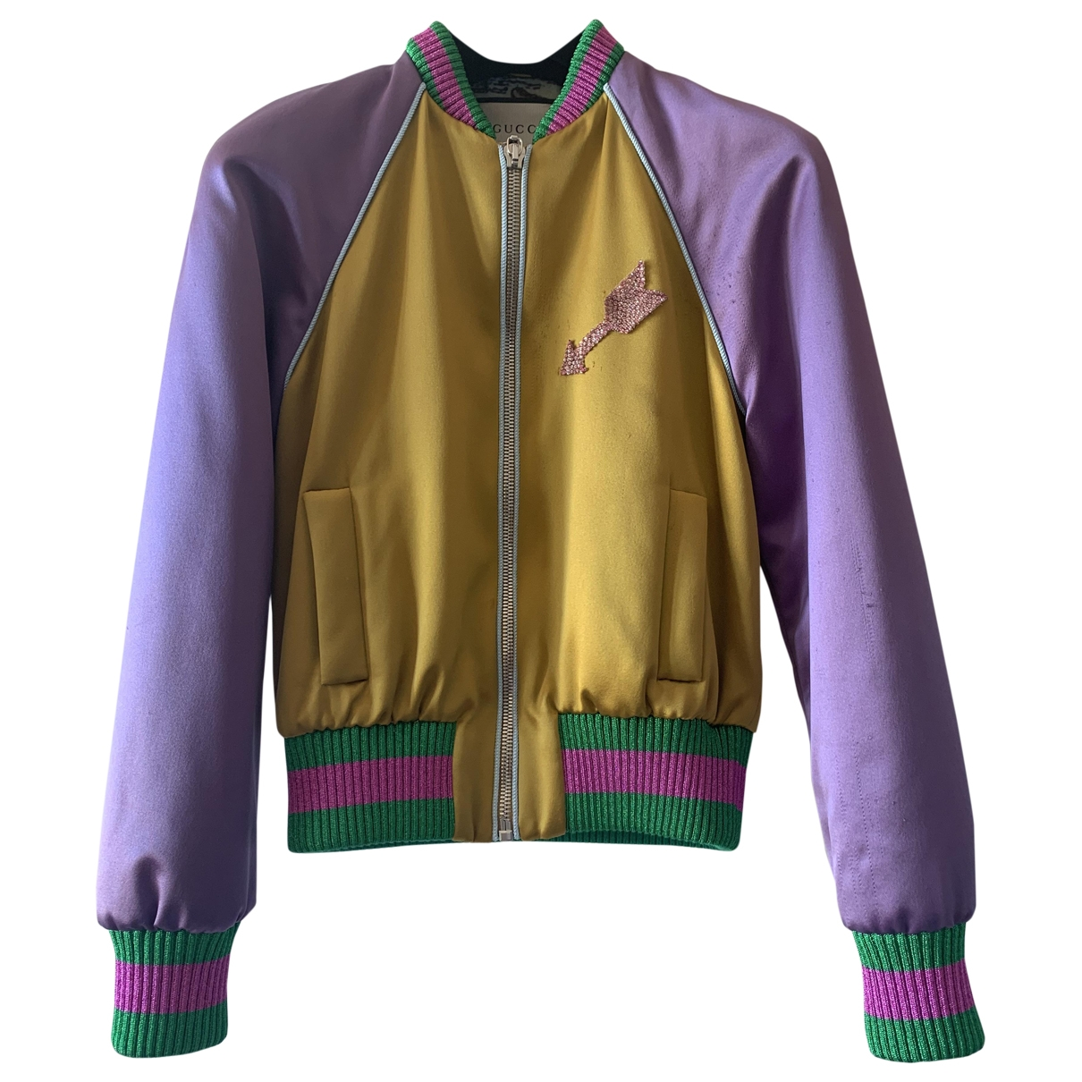 Gucci \N Yellow jacket for Women 40 IT