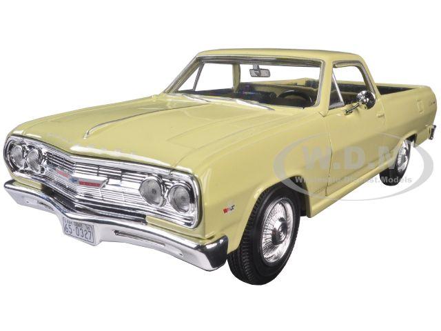 1965 Chevrolet El Camino Yellow 1/25 Diecast Model Car by Maisto