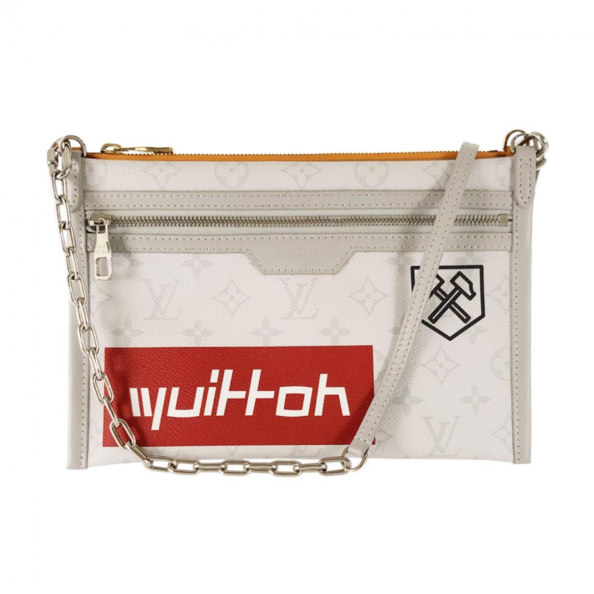 Louis Vuitton - Sac   pour homme en toile - blanc