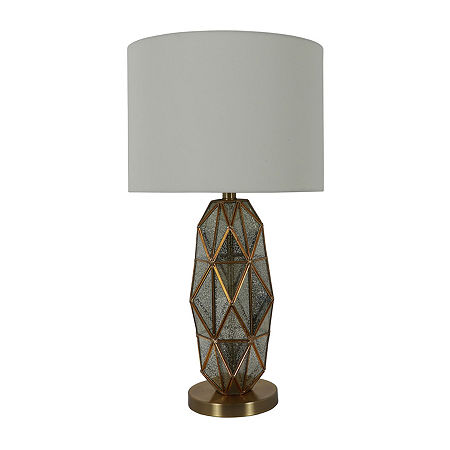 Decor Therapy Tracy Mercury Glass Glass Table Lamp, One Size , Multiple Colors