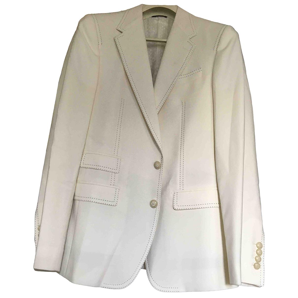 Dolce & Gabbana - Vestes.Blousons   pour homme en laine - ecru