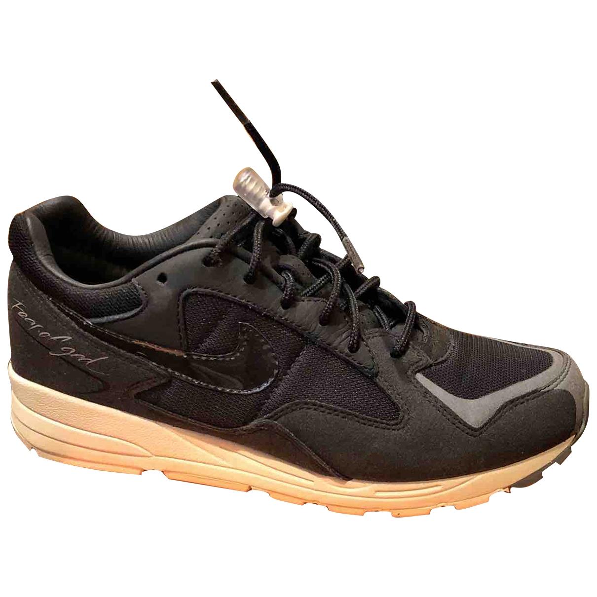 Nike X Fear Of God - Baskets Air Skylon 2 pour homme en toile - noir
