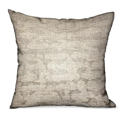 Silvered Rivulet Collection PBRAO103-2424-DP Double sided 24 x 24 Silver Solid Luxury Outdoor/Indoor Throw
