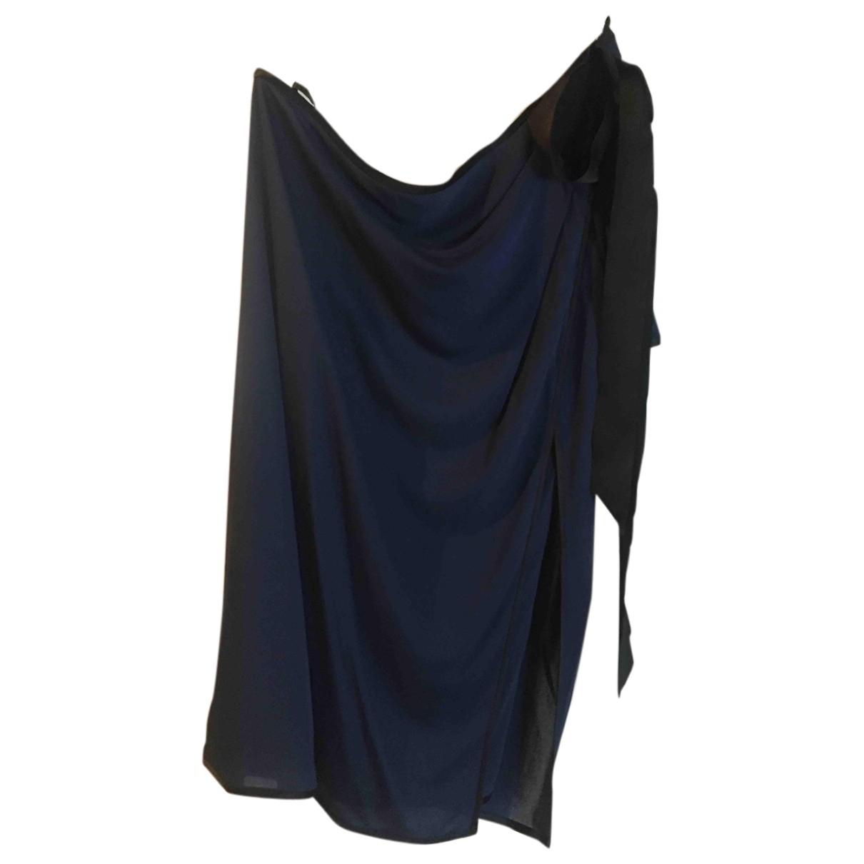Marc Jacobs \N Kleid in  Blau Viskose