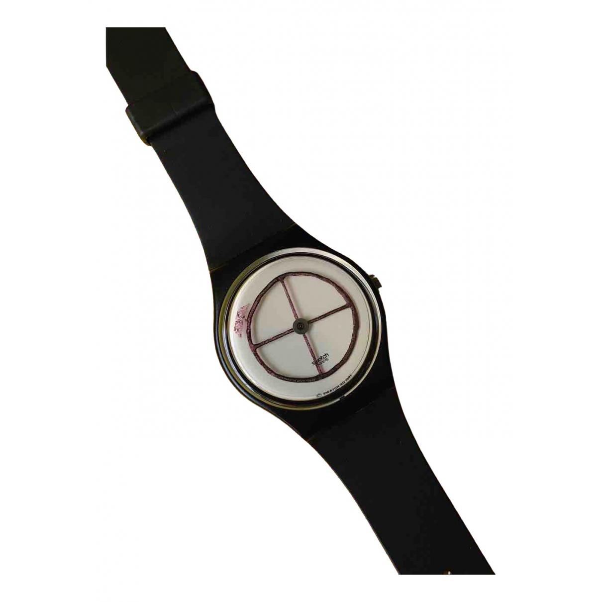 Swatch - Montre   pour femme en autre - noir