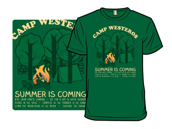 Camp Westeros T Shirt