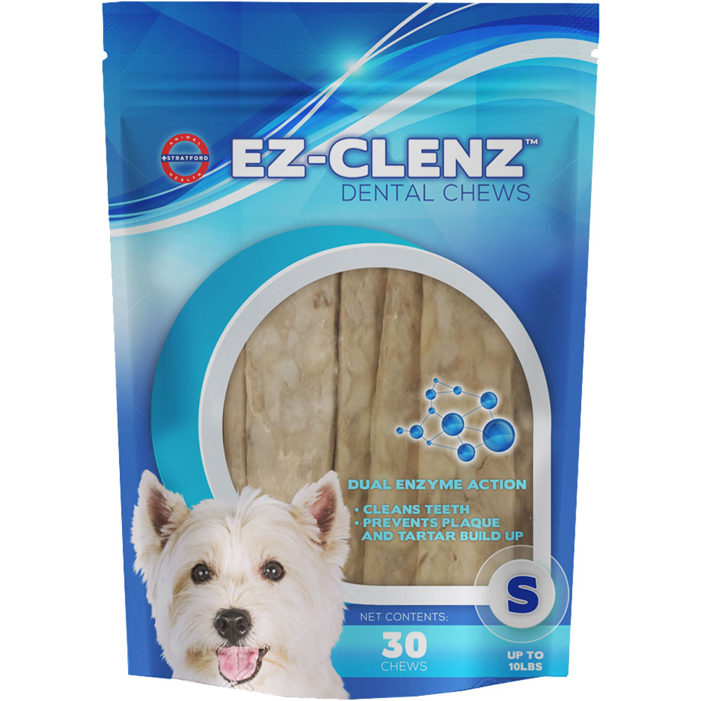 Stratford EZ-Clenz Dental Chews - Small Dogs (30 count)