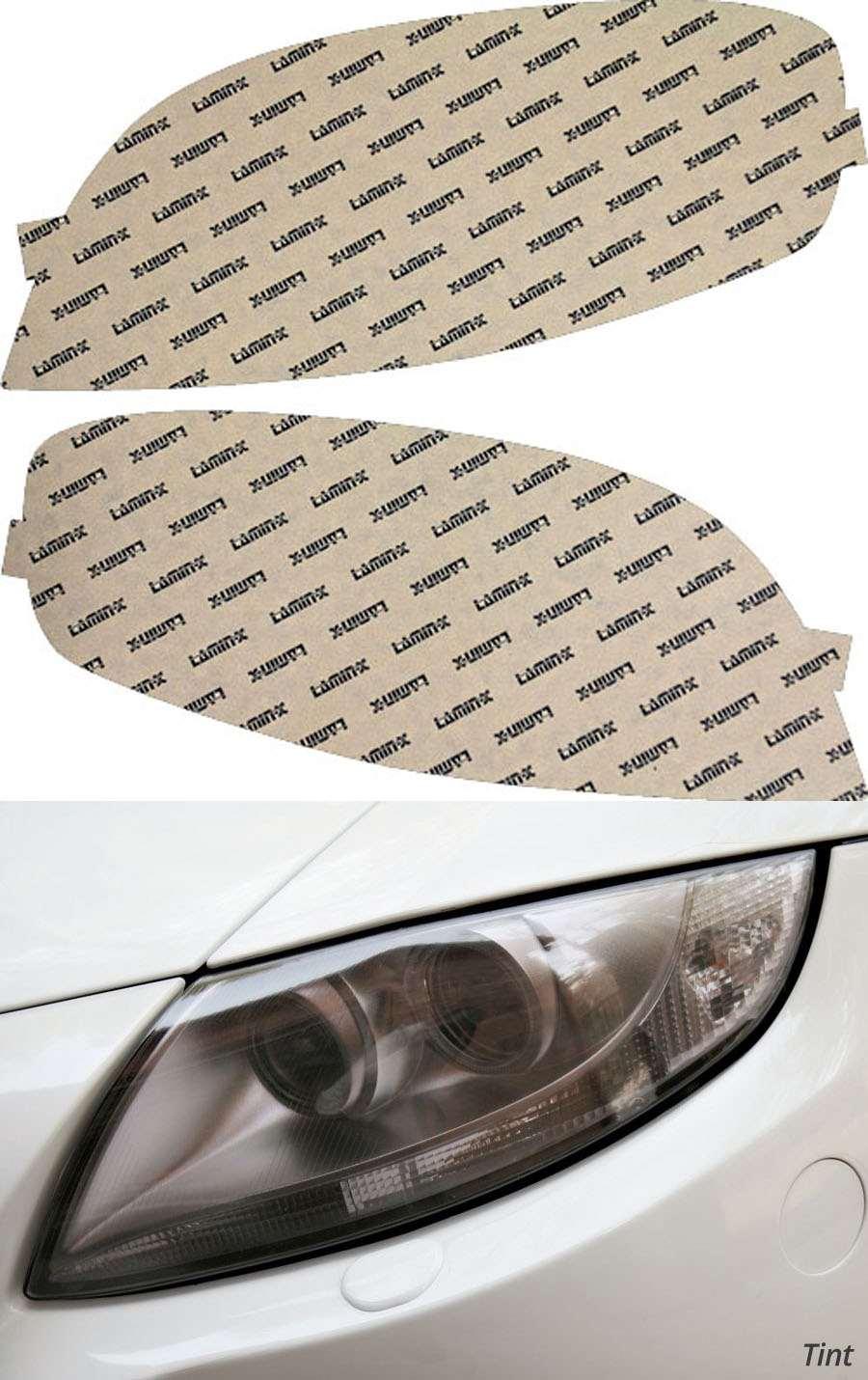Chevrolet Aveo Sedan 07-11 Tint Headlight Covers Lamin-X CH024T