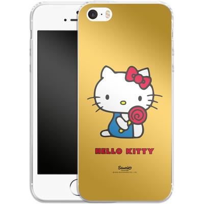 Apple iPhone SE Silikon Handyhuelle - Hello Kitty Lollipop von Hello Kitty