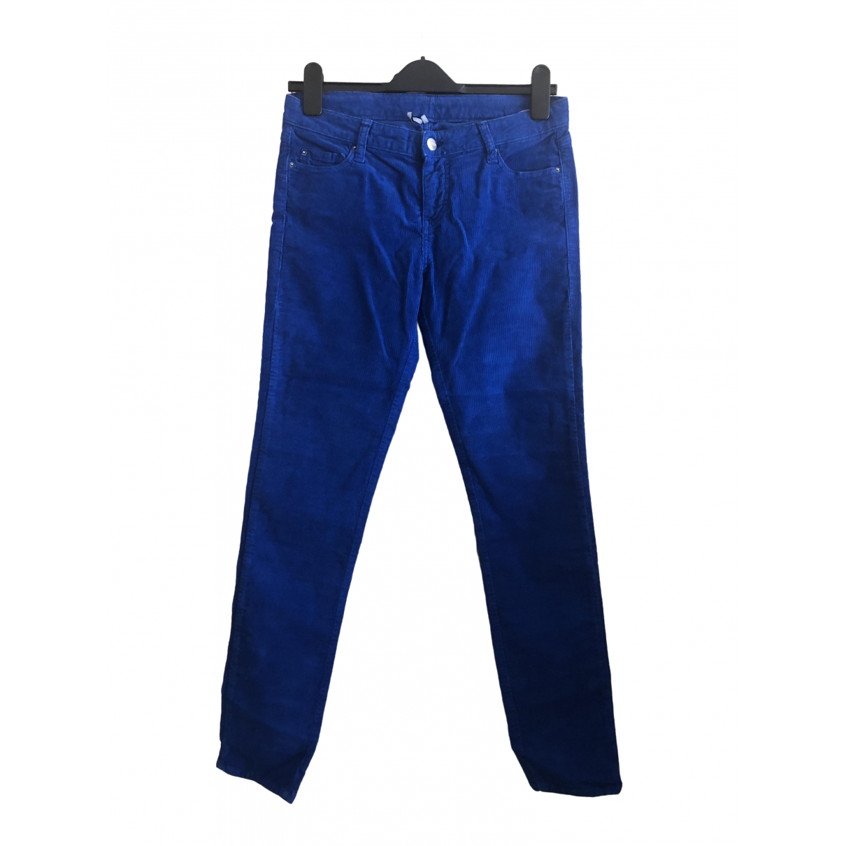 Iro \N Blue Cotton Jeans for Women 29 US