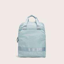Minimalist Zip Backpack