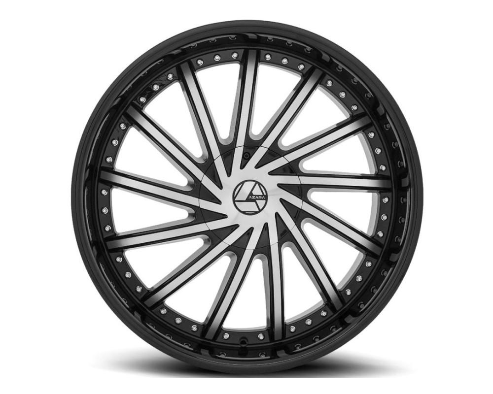 Azara 517 Wheel 22x8.5 5x110|5x114.3 38mm Gloss Black Machined