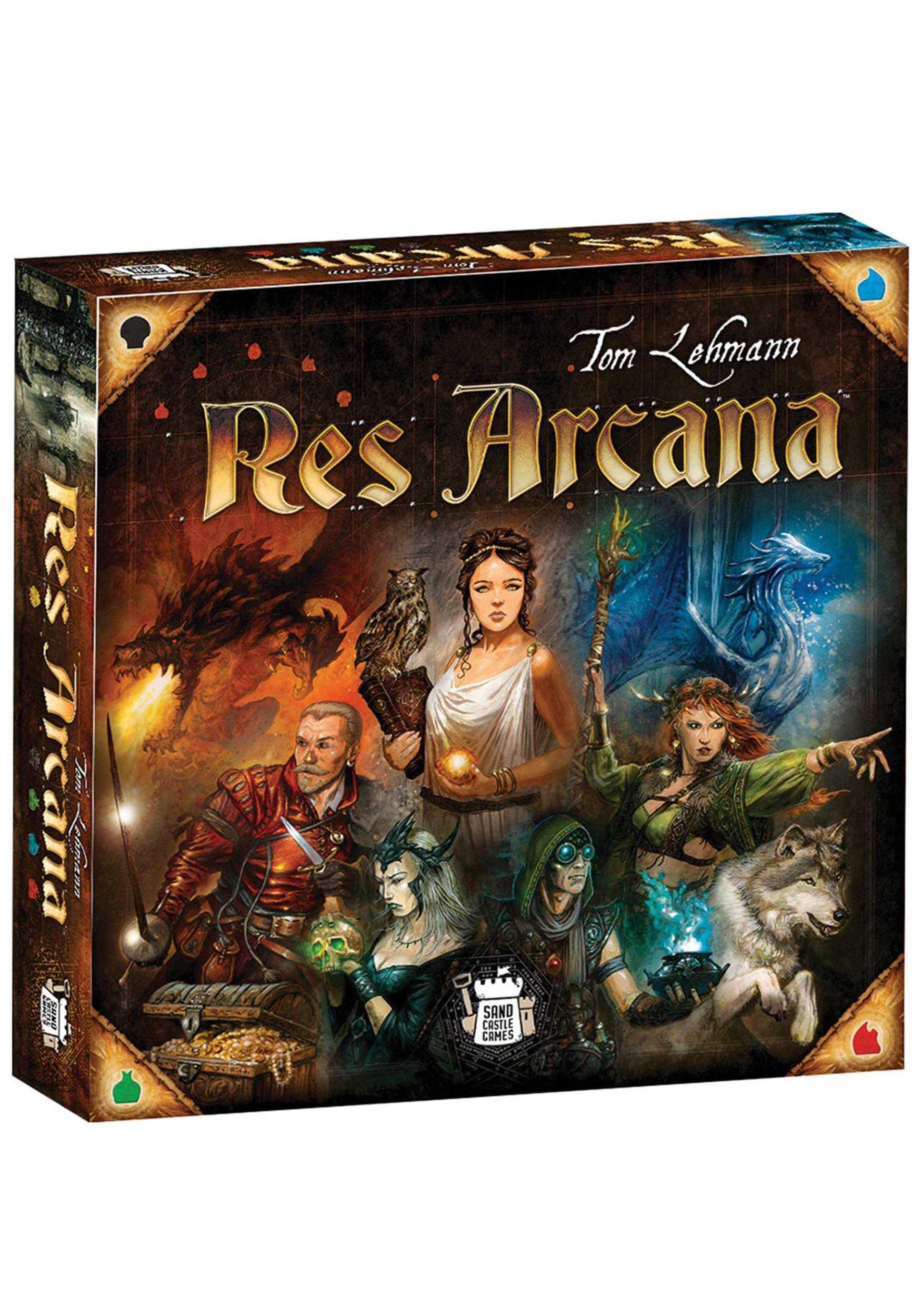 Res Arcana Board Game Strategy