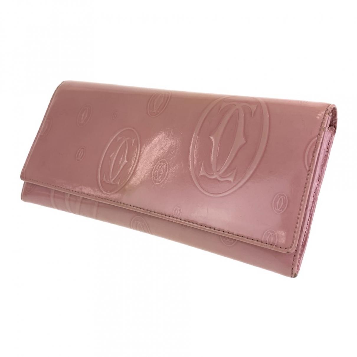 Cartier \N Portemonnaie in Lackleder