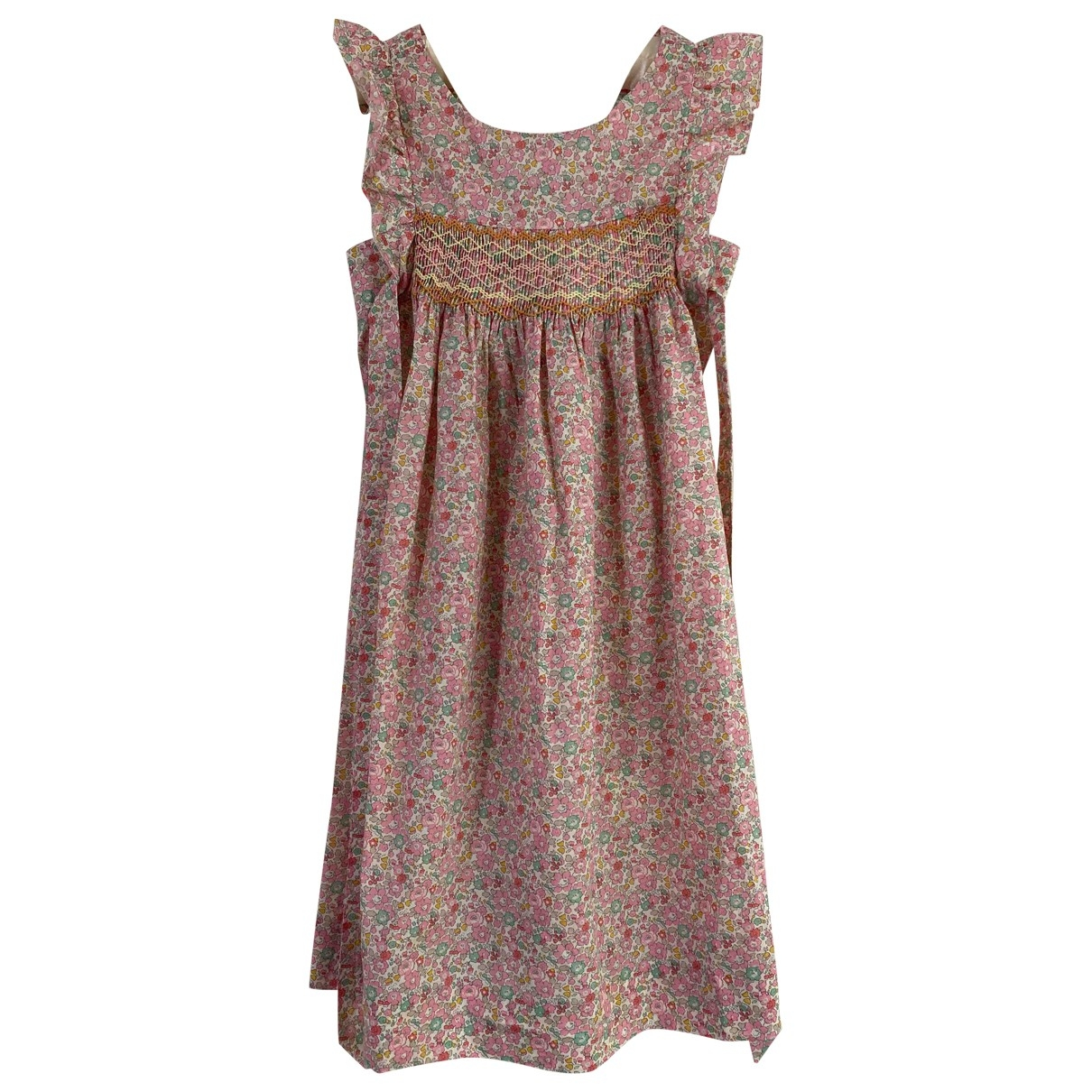 Cyrillus - Robe    pour enfant en coton - rose