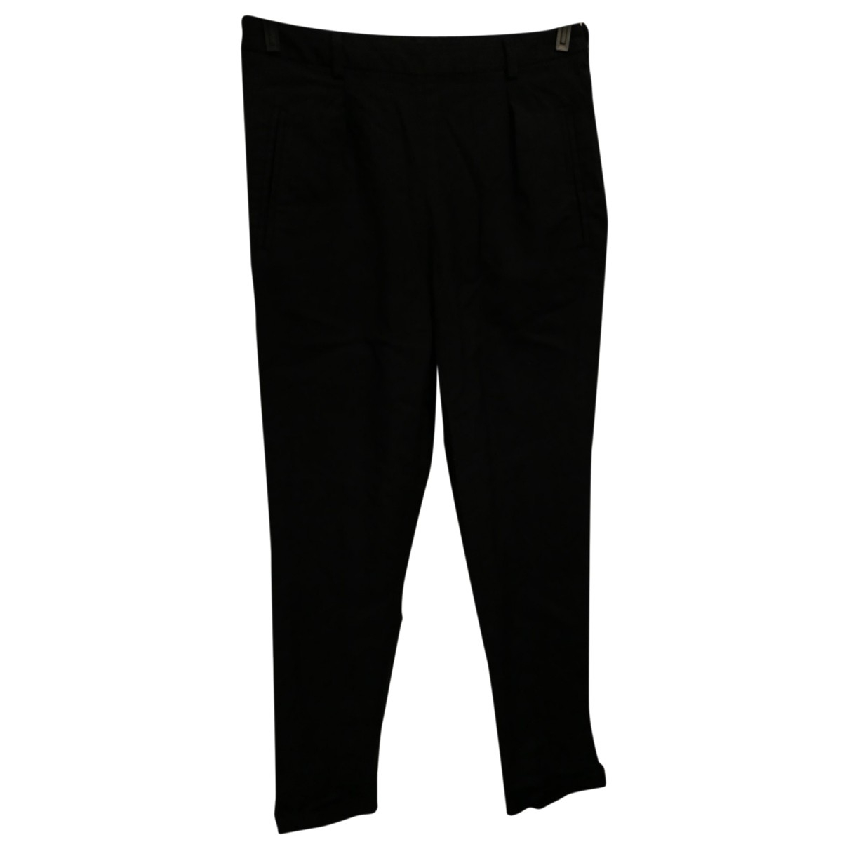 Apc \N Black Trousers for Women 34 FR