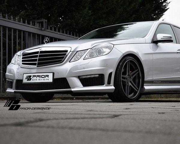 Prior Design 4260609892529 PD500 Front Bumper Cover Mercedes-Benz E-Class Sedan W212 10-16