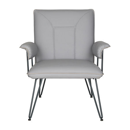 Johannes Arm Chair, One Size , Gray