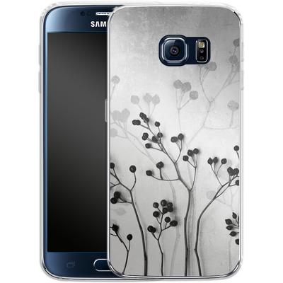 Samsung Galaxy S6 Silikon Handyhuelle - Abstract Flowers 5 von Mareike Bohmer