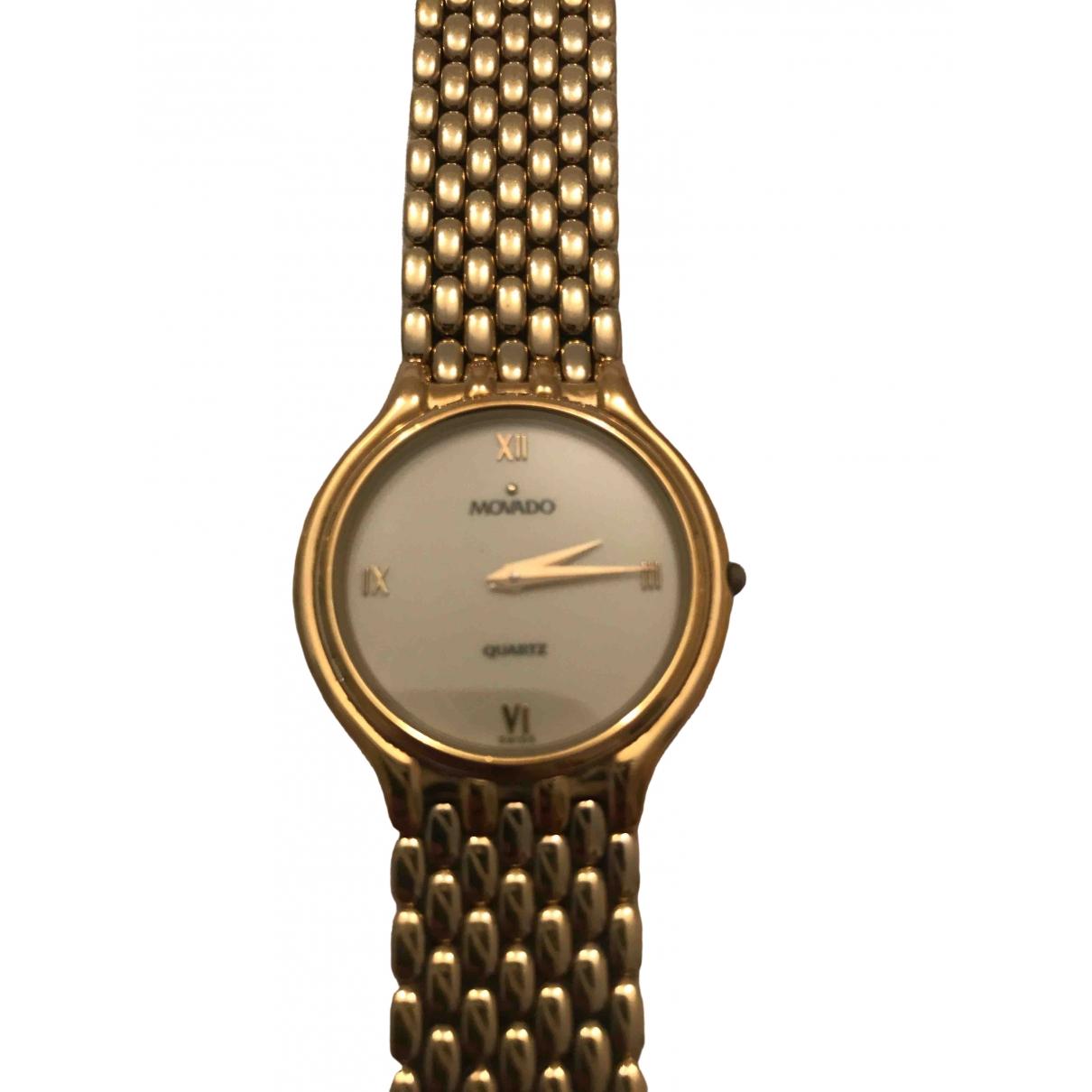 Movado \N Uhr in Vergoldet