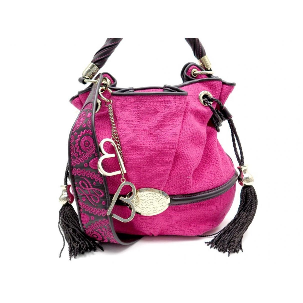 Lancel Brigitte Bardot Pink Cloth handbag for Women \N