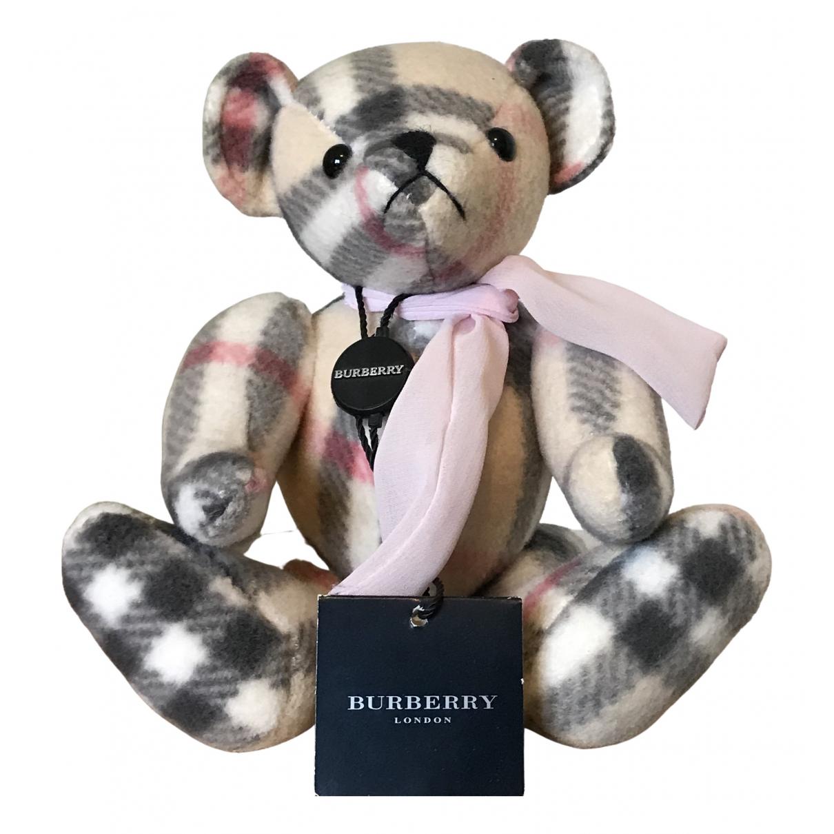 Burberry - Objets & Deco   pour lifestyle en cachemire - beige