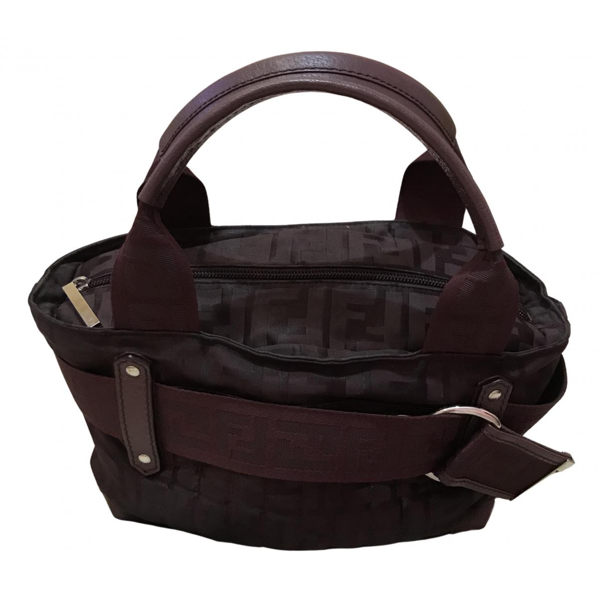 Fendi N Burgundy Cloth handbag for Women N