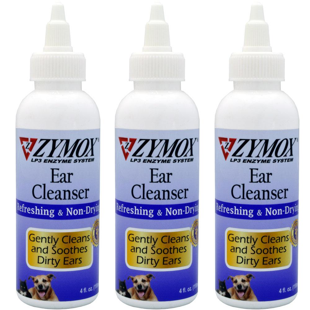 3-PACK Zymox Retail Ear Cleanser (12 oz)