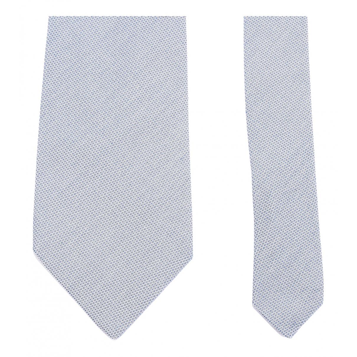 Corneliani N Grey Silk Ties for Men N