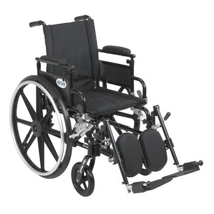 pla420fbdaarad-elr Viper Plus Gt Wheelchair With Flip Back Removable Adjustable Desk Arms  Elevating Leg Rests  20