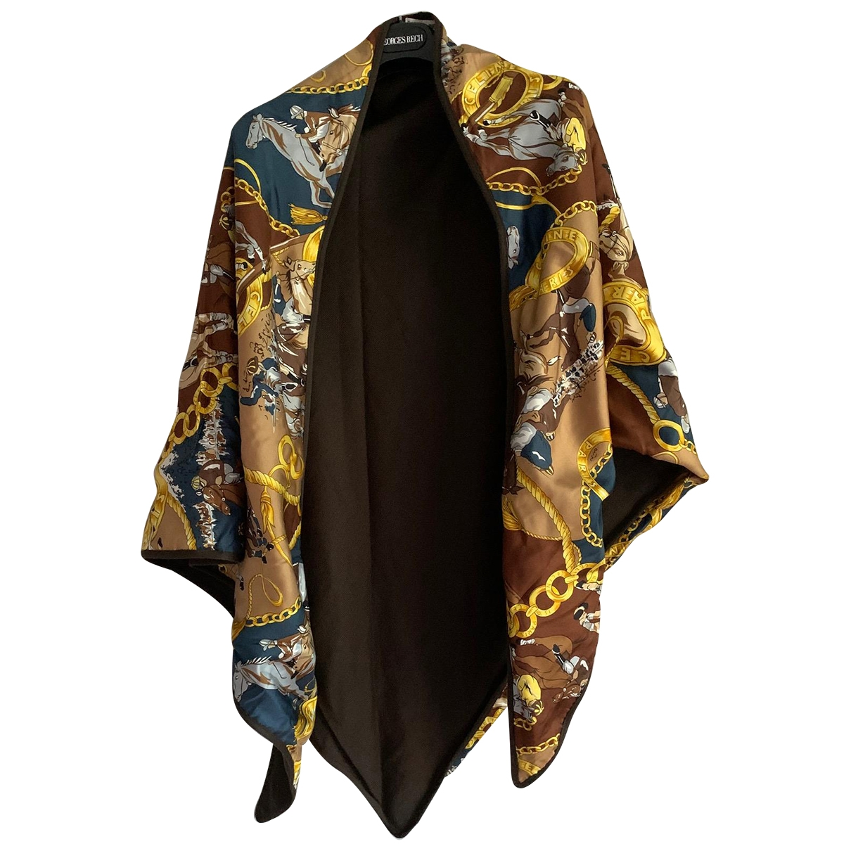 Celine \N Multicolour Silk scarf for Women \N