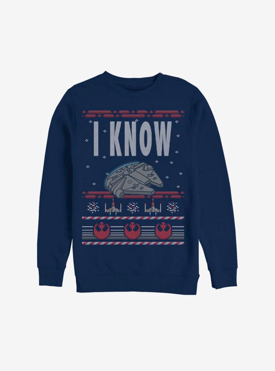 Star Wars I Know Christmas Pattern Sweatshirt