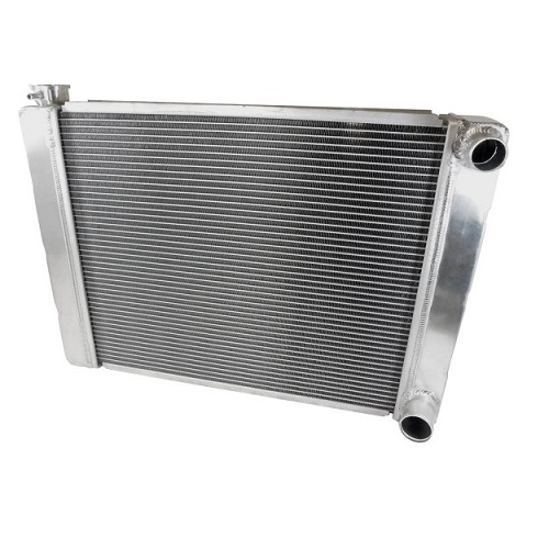 Racing Power Company R1025-D Dual Pass Universal Aluminum  Ford Radiator 24