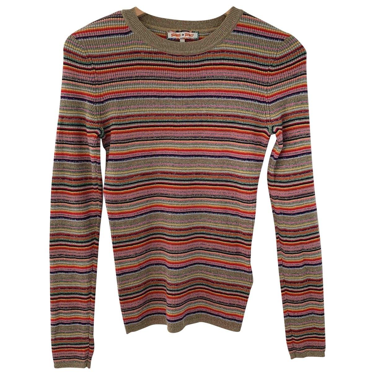 Tommy Hilfiger \N Pullover in  Metallic Baumwolle