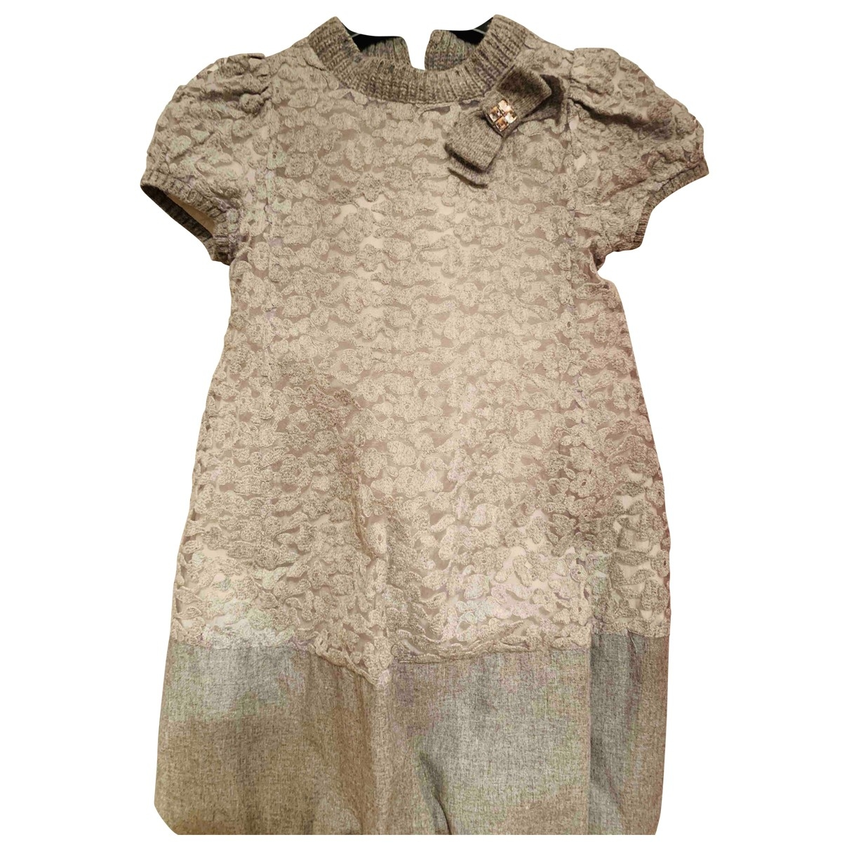 Simonetta \N Grey Wool dress for Kids 6 years - up to 114cm FR